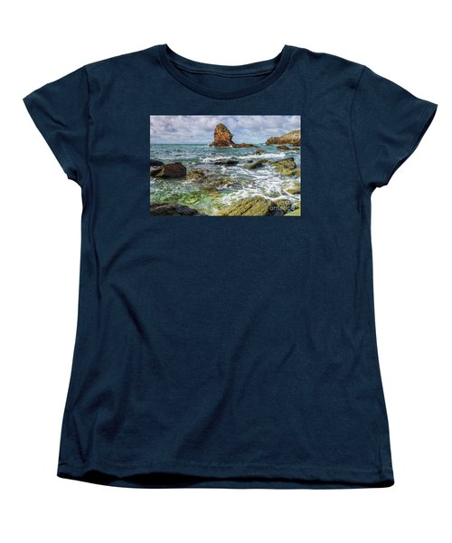 Women's T-Shirt (Standard Cut) featuring the photograph Gwenfaens Pillar by Ian Mitchell