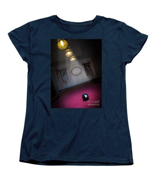 8 Ball Women's T-Shirt (Standard Cut) by Brian Jones
