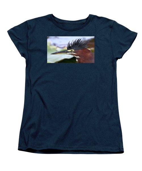 Green Heron Women's T-Shirt (Standard Cut)