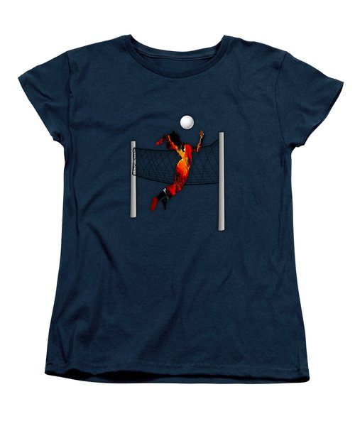 Vollyball Collection Women's T-Shirt (Standard Cut) by Marvin Blaine