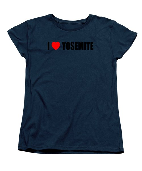Yosemite National Park Women's T-Shirt (Standard Cut) by Brian's T-shirts