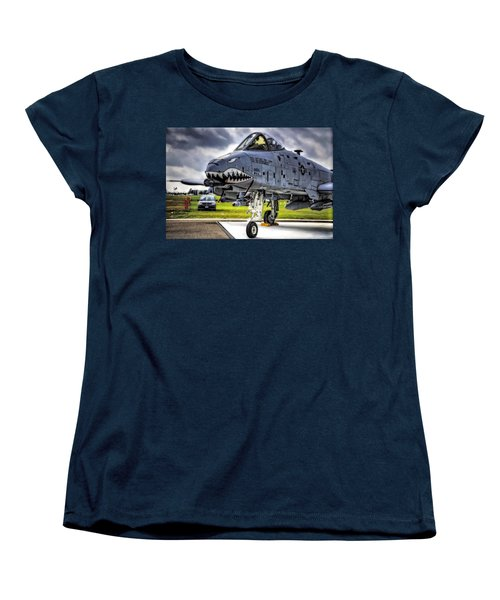 A-10 Thunderbolt  Women's T-Shirt (Standard Cut)