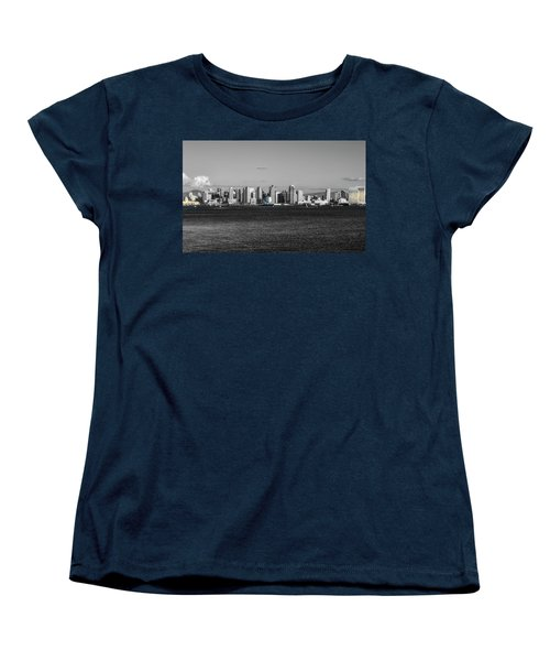 A Bit Of Color Women's T-Shirt (Standard Cut) by Joseph S Giacalone