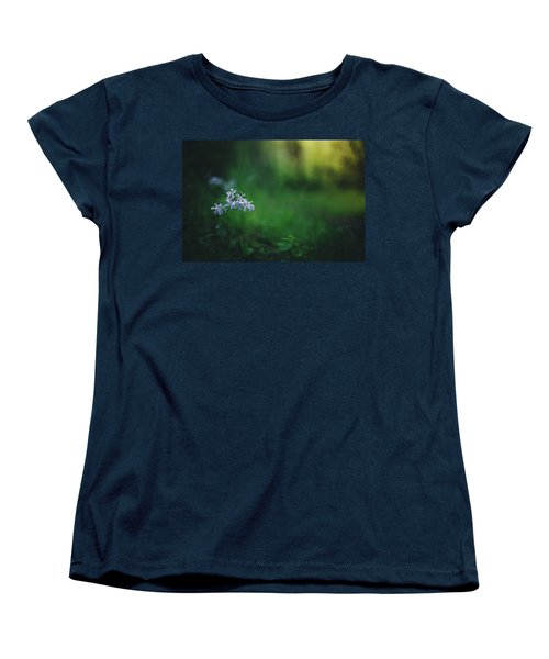 Women's T-Shirt (Standard Cut) featuring the photograph A Bit Of Forest Magic by Shane Holsclaw