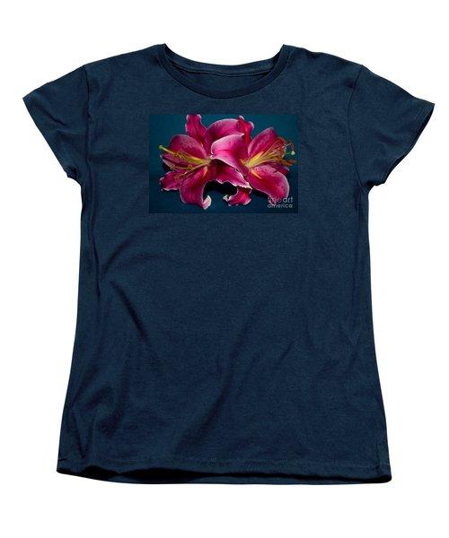 A Bunch Of Beauty Women's T-Shirt (Standard Cut) by Roberta Byram