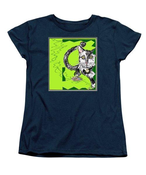 A Cat Women's T-Shirt (Standard Cut)