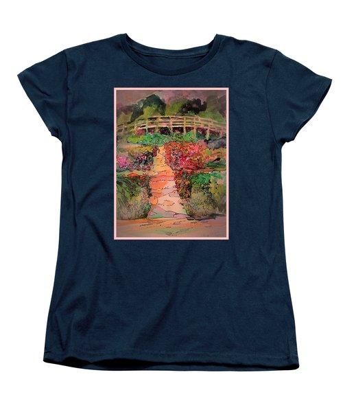 A Charming Path Women's T-Shirt (Standard Cut) by Mindy Newman