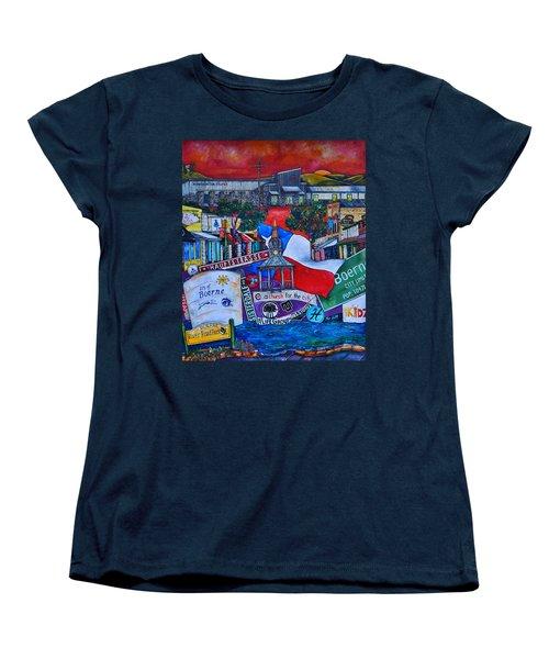A Church For The City Women's T-Shirt (Standard Cut) by Patti Schermerhorn