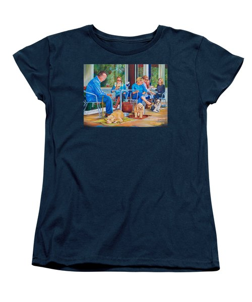 A Dog's Life Women's T-Shirt (Standard Cut) by AnnaJo Vahle