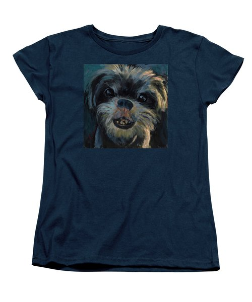 A Face Only A Mother Could Love Women's T-Shirt (Standard Cut) by Billie Colson