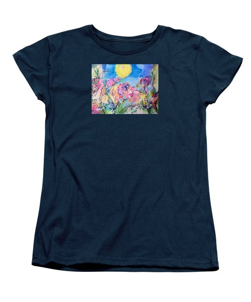 A Fine Summers Morning  Women's T-Shirt (Standard Cut) by Judith Desrosiers