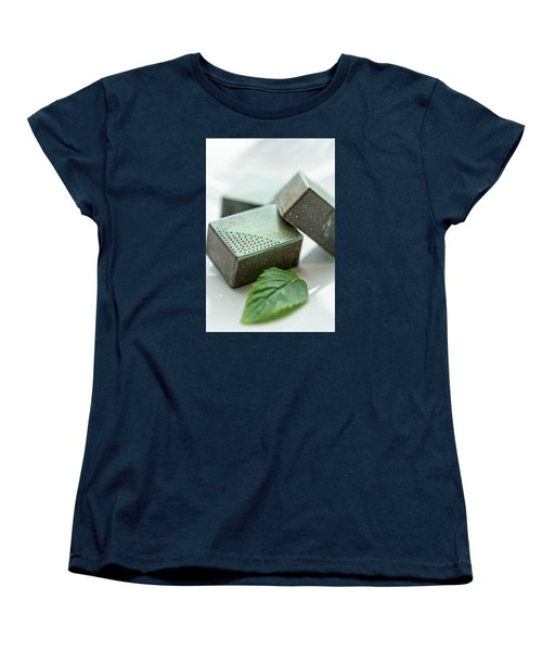 Women's T-Shirt (Standard Cut) featuring the photograph A Hint Of Mint by Sabine Edrissi
