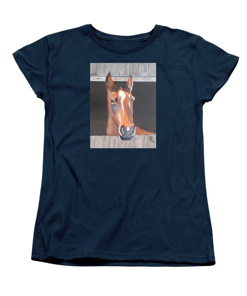 A Horse With No Name Women's T-Shirt (Standard Cut) by Carole Robins