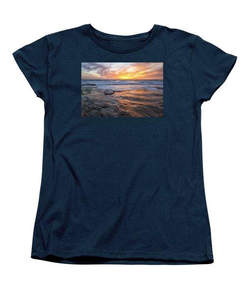 A La Jolla Sunset #2 Women's T-Shirt (Standard Cut)