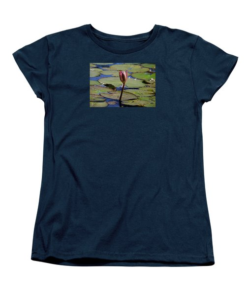 Women's T-Shirt (Standard Cut) featuring the photograph A Lonely Vigil by Michiale Schneider