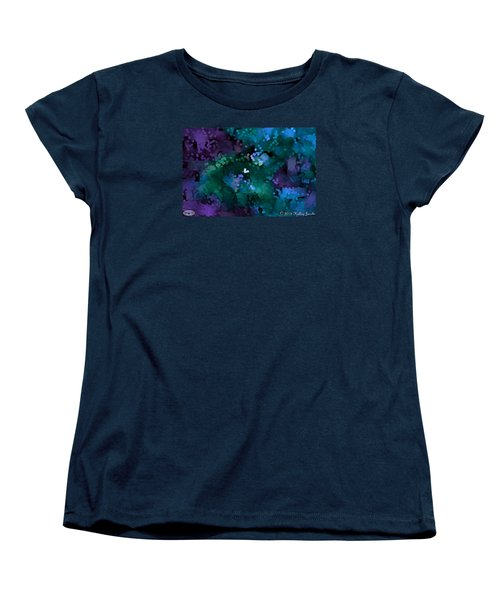Women's T-Shirt (Standard Cut) featuring the painting A Love Song by Holley Jacobs