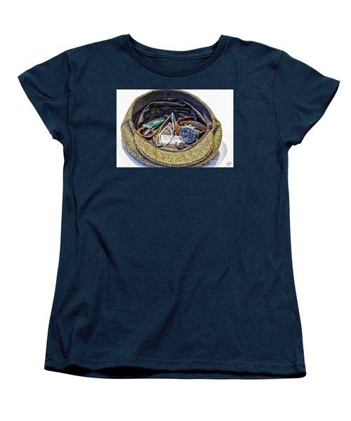 Women's T-Shirt (Standard Cut) featuring the photograph A Man's Items by Walt Foegelle