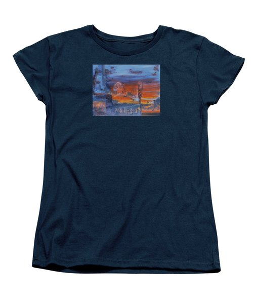 A Mystery Of Gods Women's T-Shirt (Standard Cut) by Steve Karol