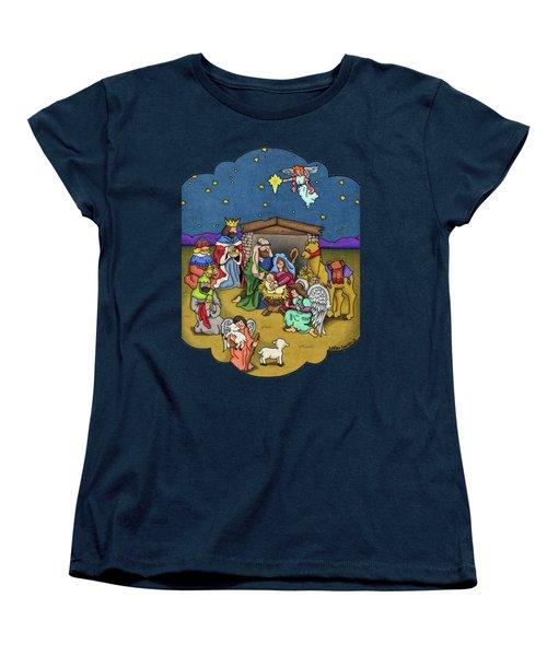A Nativity Scene Women's T-Shirt (Standard Cut)