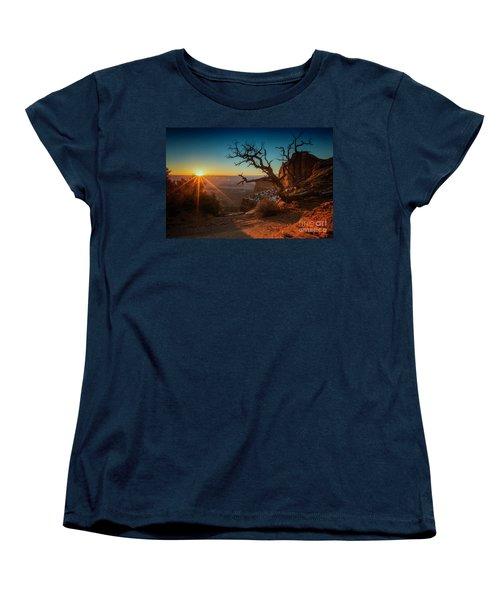 Women's T-Shirt (Standard Cut) featuring the photograph A New Day Dawns by Kristal Kraft