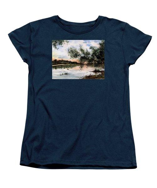 A New Day Women's T-Shirt (Standard Cut) by Sam Sidders
