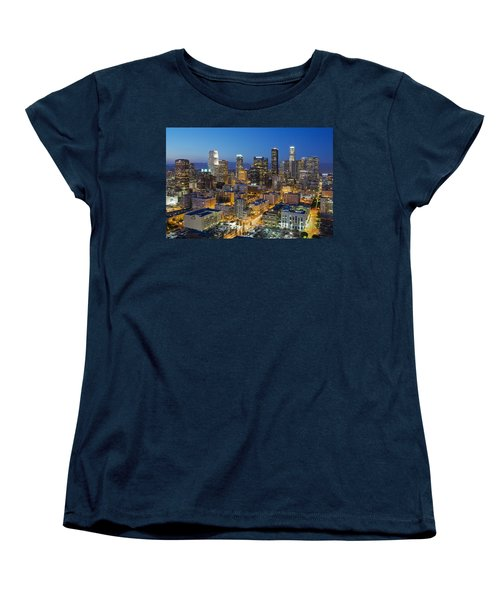 A Night In L A Women's T-Shirt (Standard Cut) by Kelley King