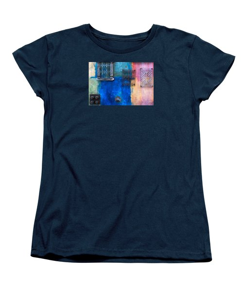 A Painted Wall Women's T-Shirt (Standard Cut) by Catherine Lau