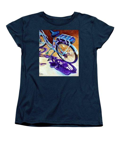 A Pedego Cruiser Bike Women's T-Shirt (Standard Cut) by Marcia Baldwin
