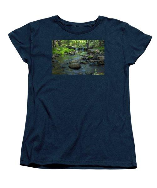 A Place Of Solitude Women's T-Shirt (Standard Cut) by Sue Cullumber