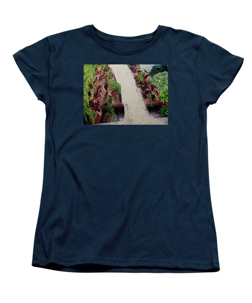 A Place To Hide Women's T-Shirt (Standard Cut) by Lisa Rose Musselwhite