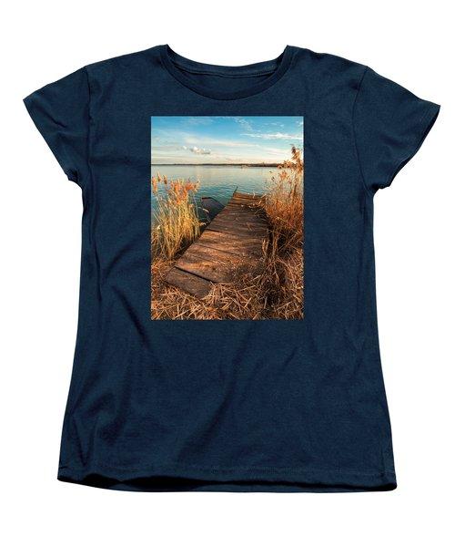 A Place Where Lovers Meet Women's T-Shirt (Standard Cut) by Davorin Mance