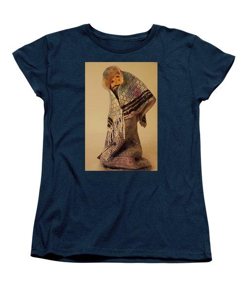 A Prayer In Talit Women's T-Shirt (Standard Cut) by Itzhak Richter