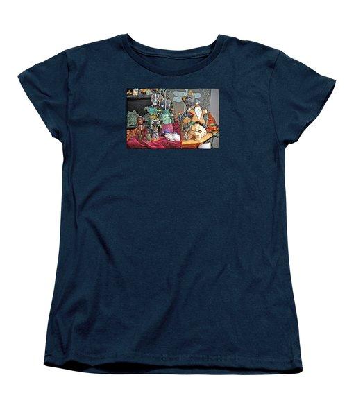 A Prayer Of Thanksgiving Women's T-Shirt (Standard Cut) by Tobeimean Peter