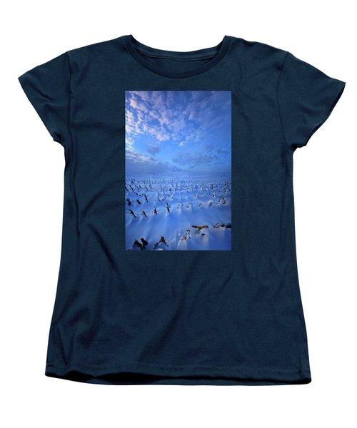 Women's T-Shirt (Standard Cut) featuring the photograph A Quiet Light Purely Seen by Phil Koch