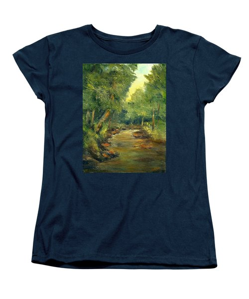 A Quiet Place Women's T-Shirt (Standard Cut) by Gail Kirtz