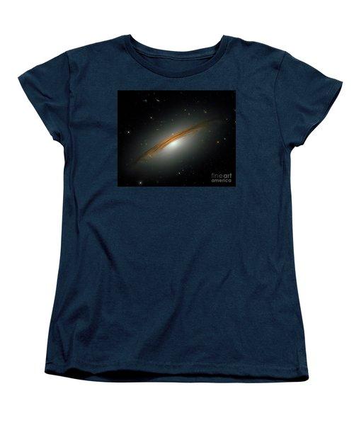 Fastest Spinning Galaxy Women's T-Shirt (Standard Cut) by Nicholas Burningham