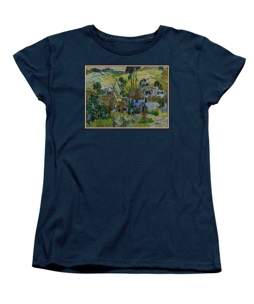 Women's T-Shirt (Standard Cut) featuring the painting A Replica Of A Painting  Of Van Gogh by Pemaro