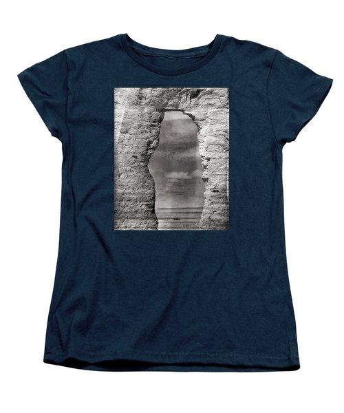 Women's T-Shirt (Standard Cut) featuring the photograph A Ride Through Time by Darren White