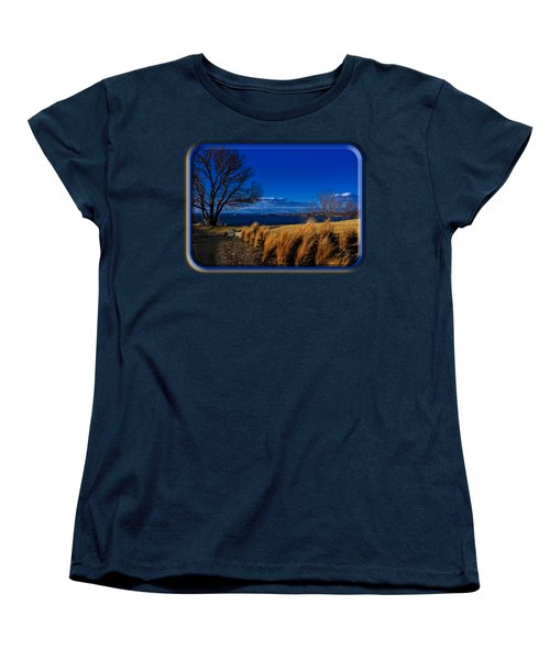 A Side Path Women's T-Shirt (Standard Cut) by Mark Myhaver