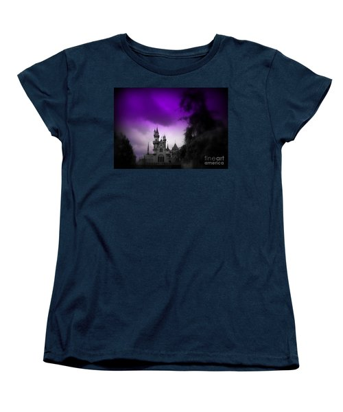 A Spell Cast Once Upon A Time Women's T-Shirt (Standard Cut) by Susan Lafleur