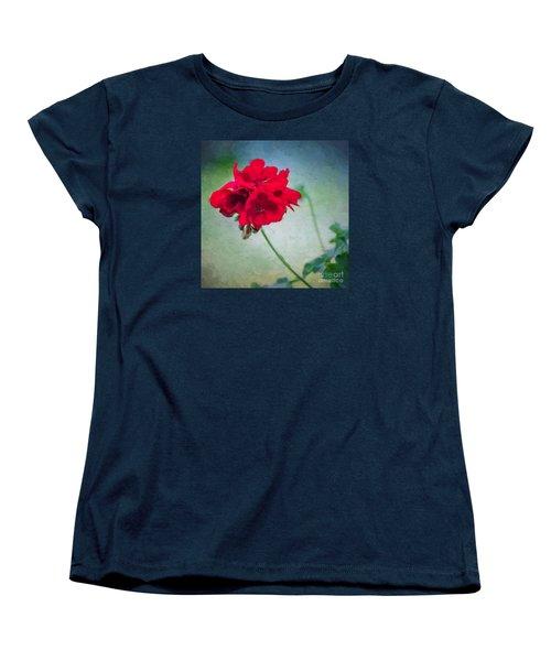 A Splash Of Red Women's T-Shirt (Standard Cut)