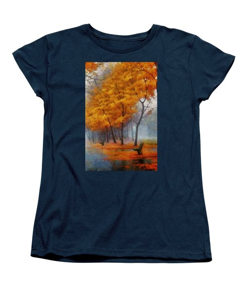 A Stand For Autumn Women's T-Shirt (Standard Cut) by Mario Carini