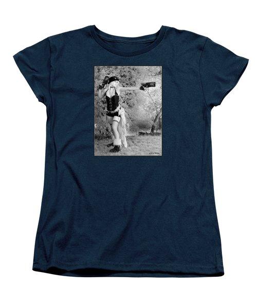 A Steam Punk Heroine Women's T-Shirt (Standard Cut)