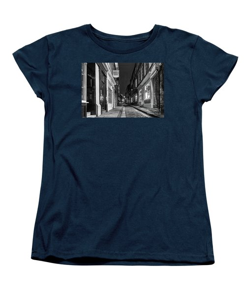 A Step Back In Time Women's T-Shirt (Standard Cut) by David  Hollingworth