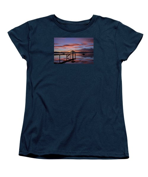 Women's T-Shirt (Standard Cut) featuring the photograph A Sunrise To Wake The Dead  by Sean Sarsfield