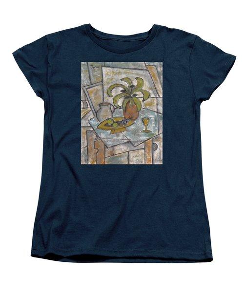 A Toast To Tranquility Women's T-Shirt (Standard Cut) by Trish Toro
