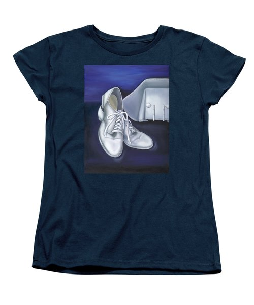 A Tradition Of White Women's T-Shirt (Standard Cut) by Marlyn Boyd
