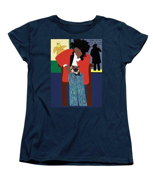 A Tribute To Jean-michel Basquiat Women's T-Shirt (Standard Fit)