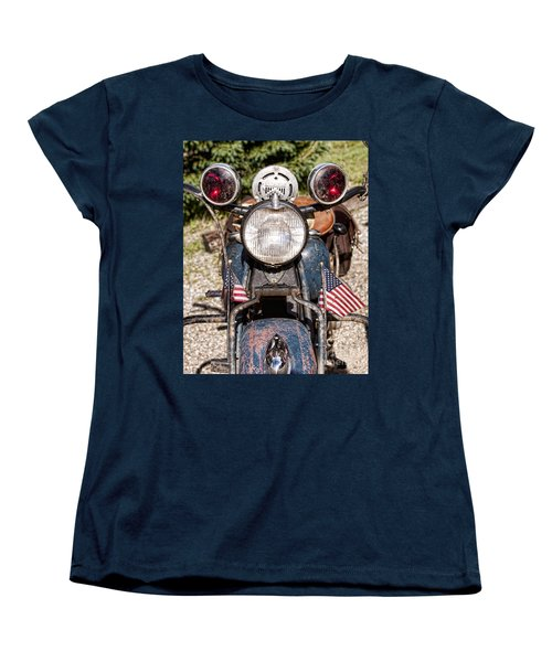 A Very Old Indian Harley-davidson Women's T-Shirt (Standard Cut) by James BO  Insogna