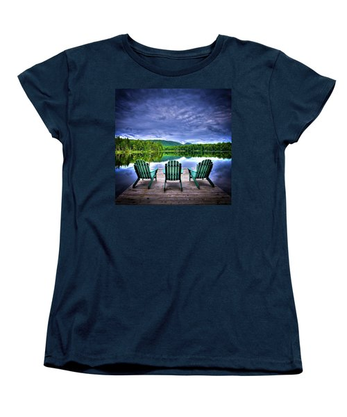 Women's T-Shirt (Standard Cut) featuring the photograph A View Of Serenity by David Patterson